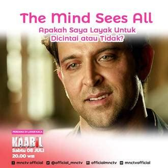 sinopsis film india terbaru pk sinopsis kaabil mnctv film india perdana sinopsis