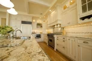 Bianco Romano Granite With White Cabinets Bianco Romano Granite Traditional Kitchen New York