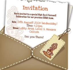 Farewell Invitation Template Free by 10 Farewell Invitation Templates Free Sle Exle