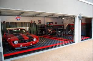 Racedeck garage flooring ideas cool garages with cool cars too