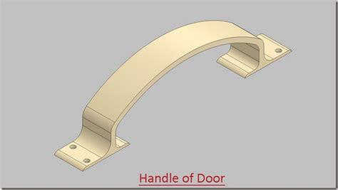 solid modelling  handle  door video tutorial