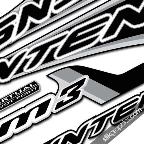 Decal Aufkleber by M3 Style Decal Kit Slik Graphics