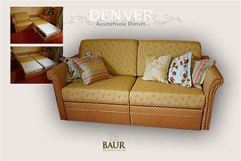 country sleeper sofa sofa sleeper in country house style baur wohnfaszination