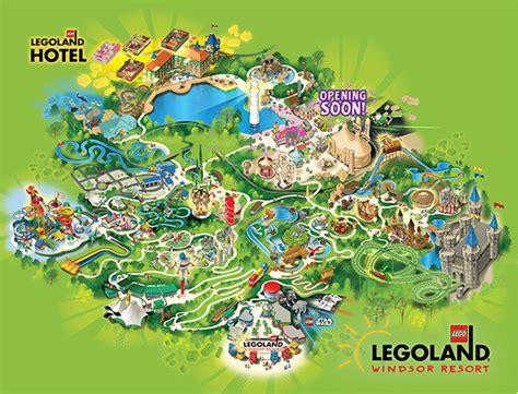 legoland map 2015 park map revealed explore legoland the ultimate guide to legoland