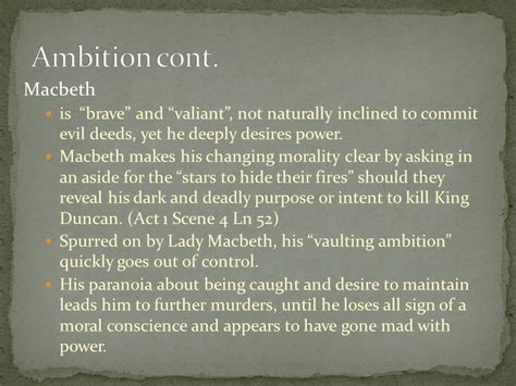 macbeth themes of ambition shakespeare s views and values themes symbols and motifs