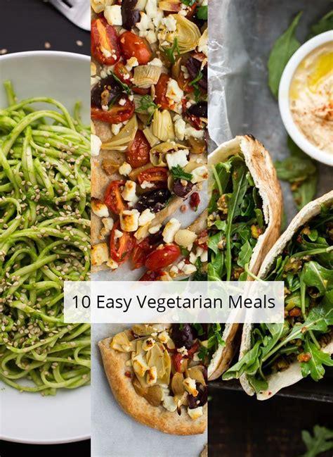 easy vegetarian meals naturally ella