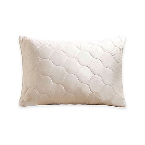 bed bath and beyond pillow inserts buy mywooly 174 adjustable and washable queen pillow from bed