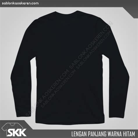 Kaos Polos Model Polo Shirt Hitam baju kaos hitam polos lengan panjang jual beli kaos