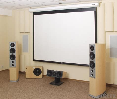 what are the different types of home theater plans
