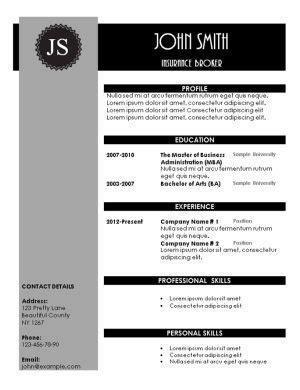free creative resume templates 2015 creative resume templates
