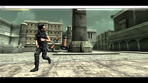 unity tutorial third person shooter unity 3d 3rd person shooter demo with daleks