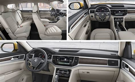 volkswagen atlas interior seating 2018 volkswagen atlas review price specs engine