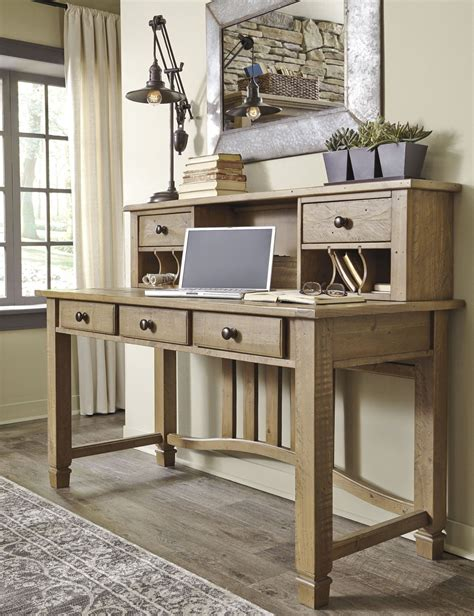 grey desk with hutch trishley weathered gray desk with hutch h659 27 48
