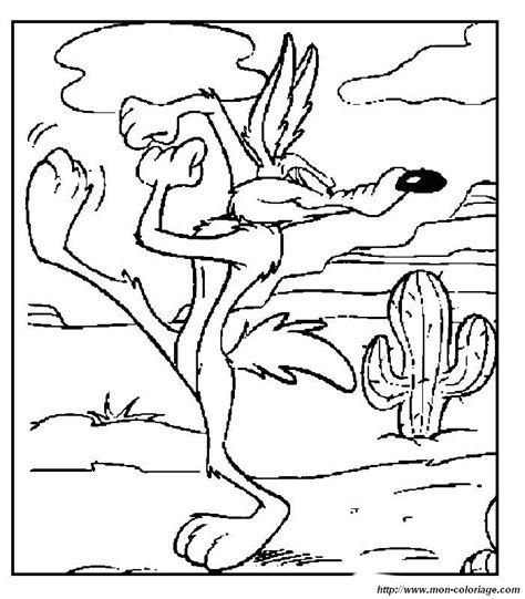 Free Coloring Pages Of Baby Wile E Coyote Wile E Coyote Coloring Pages