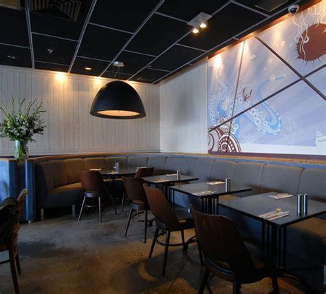 Vintage Style Seafood Restaurant Interior   InteriorZine