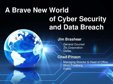 Of Dallas Mba Cyber Security by A Brave New World Of Cyber Security And Data Breach
