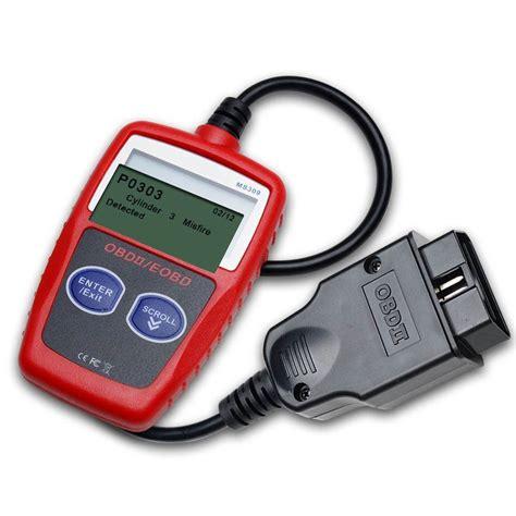 best obd diagnostic tool autel ms309 maxiscan obdii obd2 diagnostic fault code reader