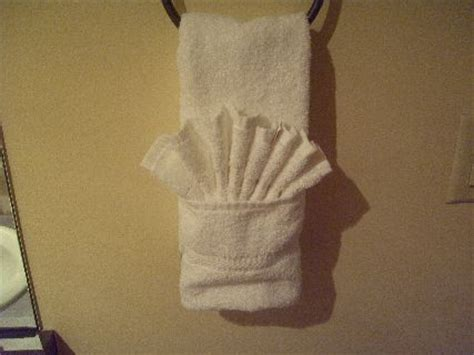 towel folding ideas for bathrooms iphone bike mount towel folding and fishing line cable management lifehacker australia