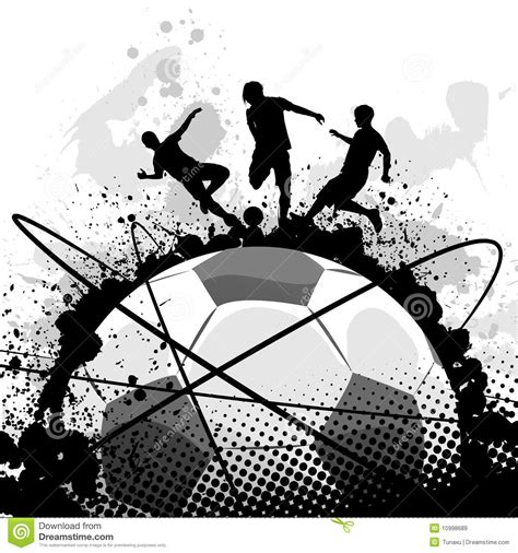 v stock images royalty free images vectors grunge soccer vector stock vector image of recreation 10998689