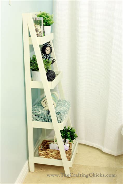 Ladder Bathroom Storage 10 Ways To Take A Bathroom From Drab To Fab