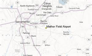 mather field airport weather station record historical