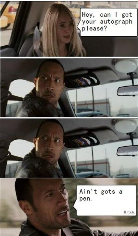 Dwayne Johnson Car Meme - image 8014 the rock driving know your meme