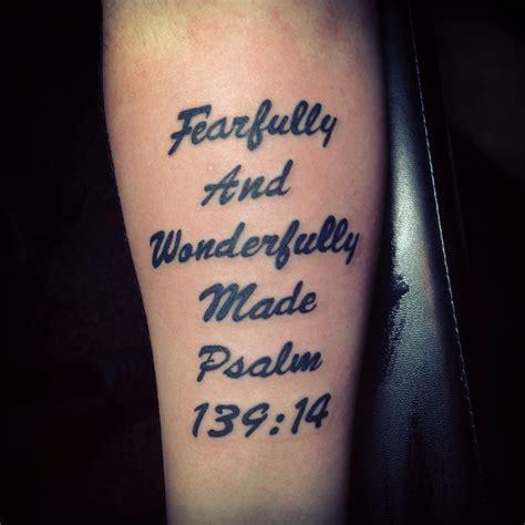 tattoos in bible bible verse psalm 139 14 tattoos