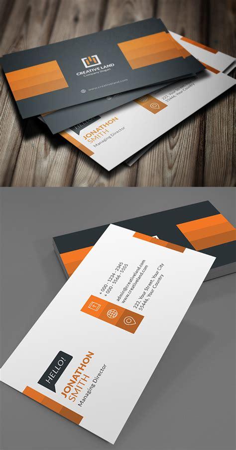 27 new professional business card psd templates design