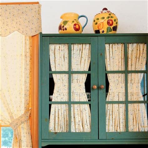 curtains for kitchen cabinets 2 interior curtains easy kitchen cabinet makeovers this house