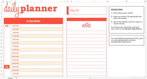 weekly calendar template for excel