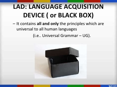 Language Acquisition Device Image Gallery Language Acquisition Device