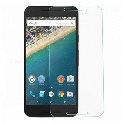 Nexus 6 Explosion Proof Tempered Glass Prot Berkualitas ultra thin 9h explosion proof tempered glass screen protector for nexus 5x transparent