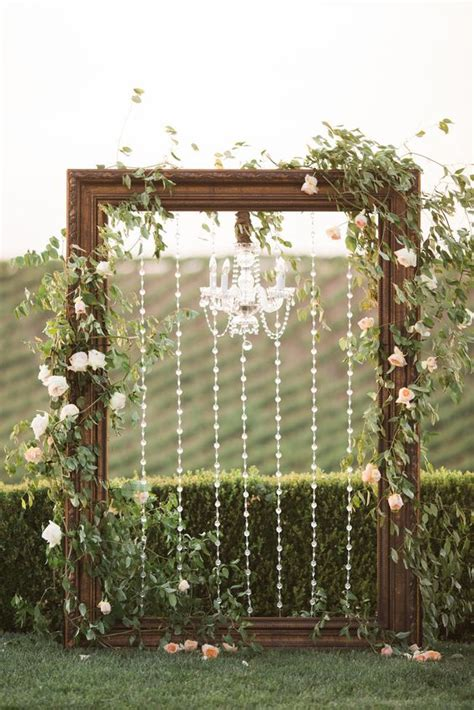 Chandelier Wedding Arch Frame Chandelier Wedding Arch Winery West Lawn Joseph Photography Weddings At