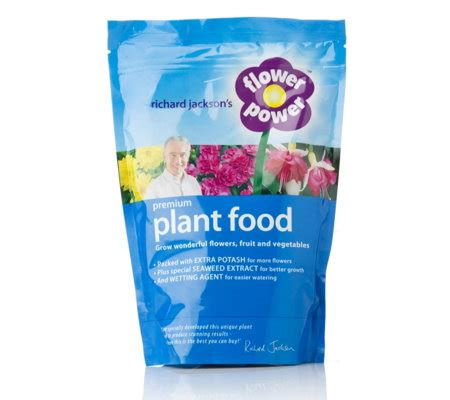 plant food that comes with flowers richard jackson s flower power 750g premium plant food
