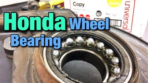 Bearing Tayar Honda City how to replace a honda wheel bearing
