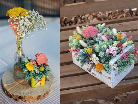 decoracion con flores secas 9 ideas de decoraci 243 n con flores secas