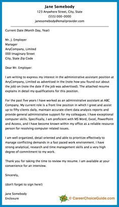 cover letter for you are already doing sle cover letter for you are already doing