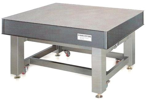 vibration isolation table vibration isolation optical table from daeil systems co