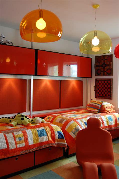 9 year boys custom bedroom design including modular