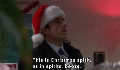 christmas spirit  office gif christmasspirit christmasbooze christmasoffice discover