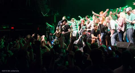 dropkick murphys at the house of blues in boston ma on 14