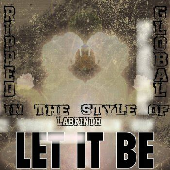 testo let it be let it be karaoke vocal version in the style of