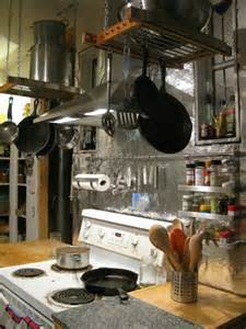 Kitchen Pot Racks With Lights