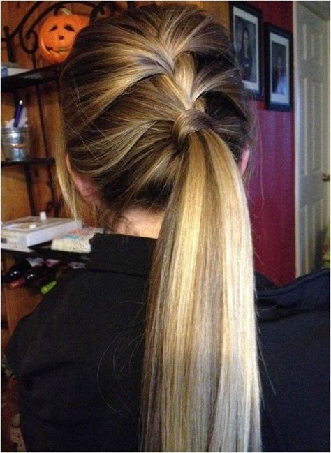 easy hairstyles in a ponytail 14 braided ponytail hairstyles new ways to style a braid