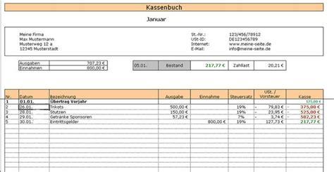 Kleinunternehmer Rechnung Notwendig Kassenbuch 2014 Freeware De