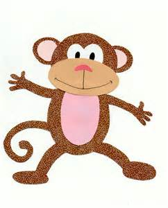 monkey template items similar to jungle animal safari animal monkey