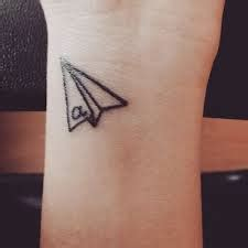 paper airplane tattoo meaning paper airplane meaning 45 ideas and designs