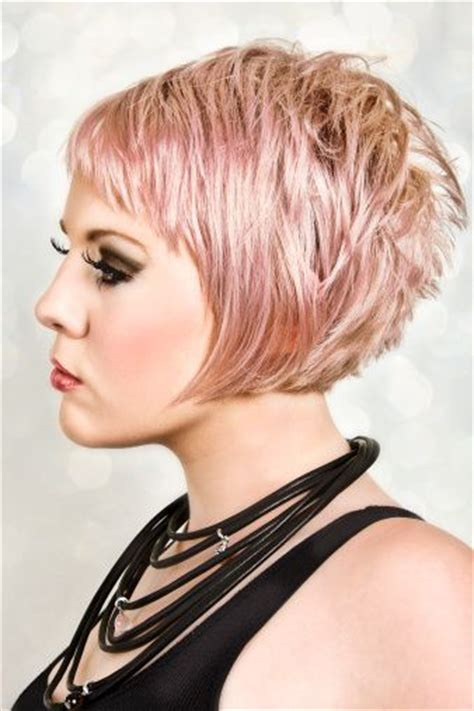 show pictures of a haircut called a stacked bob show off your tresses with these sassy layered bob