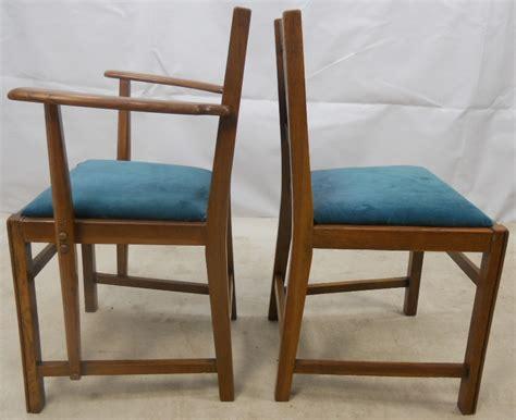 ercol armchair ercol set of six light elm dining chairs