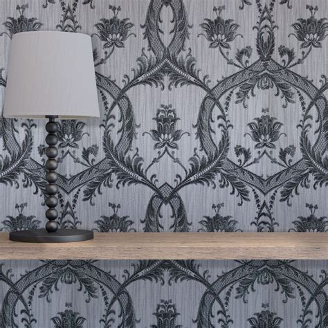 black damask wallpaper home decor black damask wallpaper home decor 28 images arthouse
